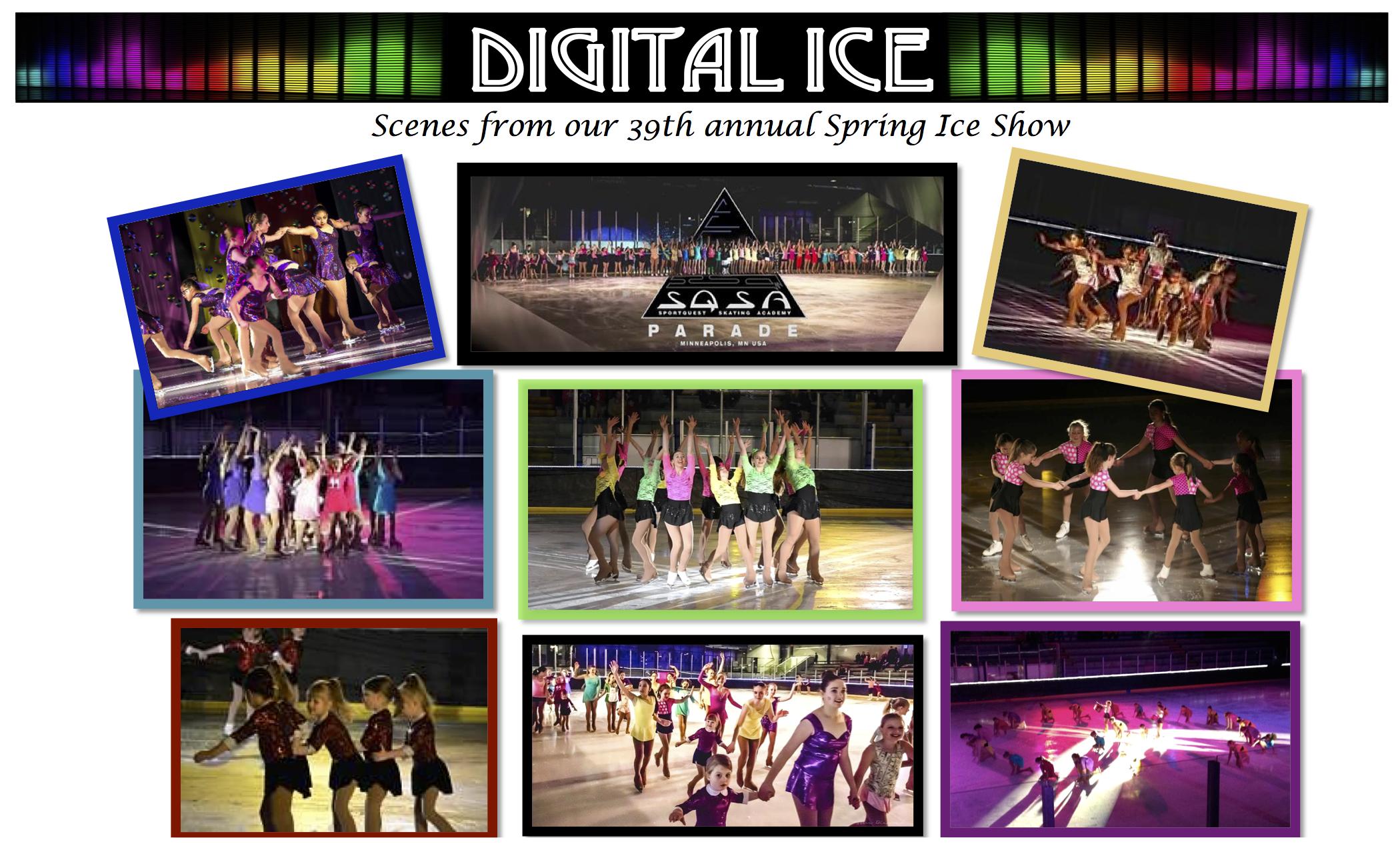 Scenes from Digital Ice