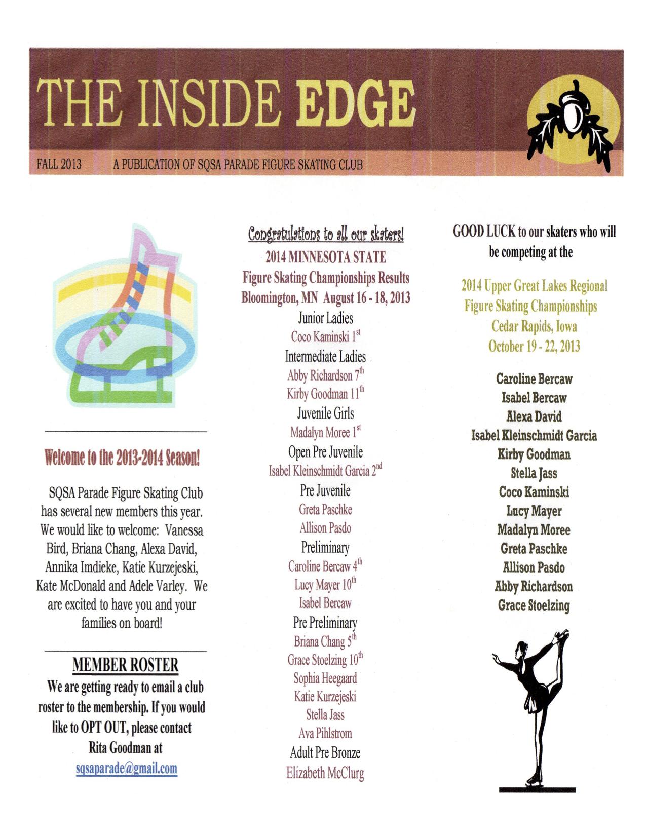 Fall 2013 Page 1