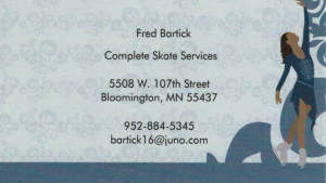 Fred Bartick Business Card